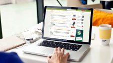 Hot UK Deals Website Laptop