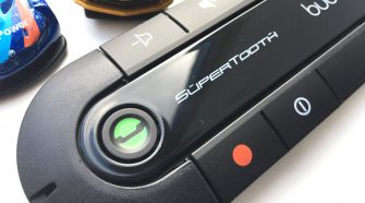 supertooth buddy bluetooth handsfree in car device