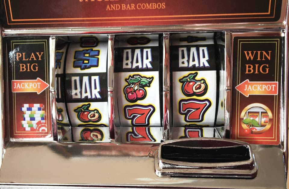 Slots Machine Detail Shot