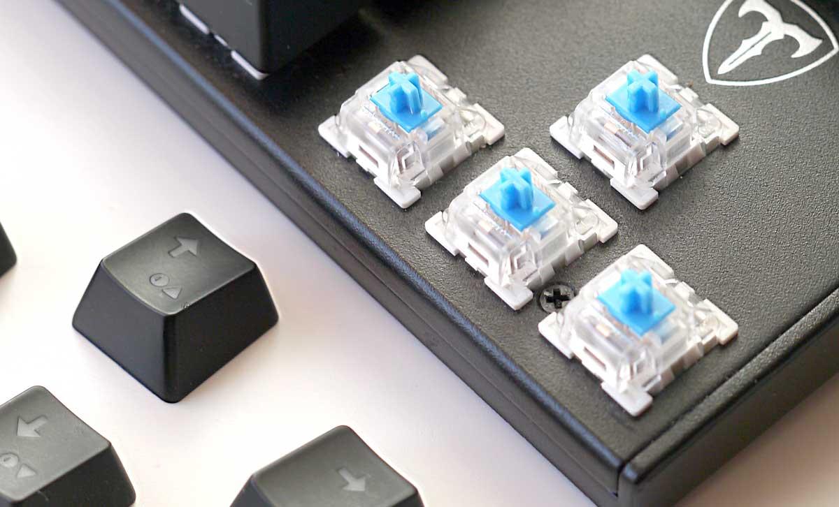 Cheap Mechanical RGB Keyboard Switches