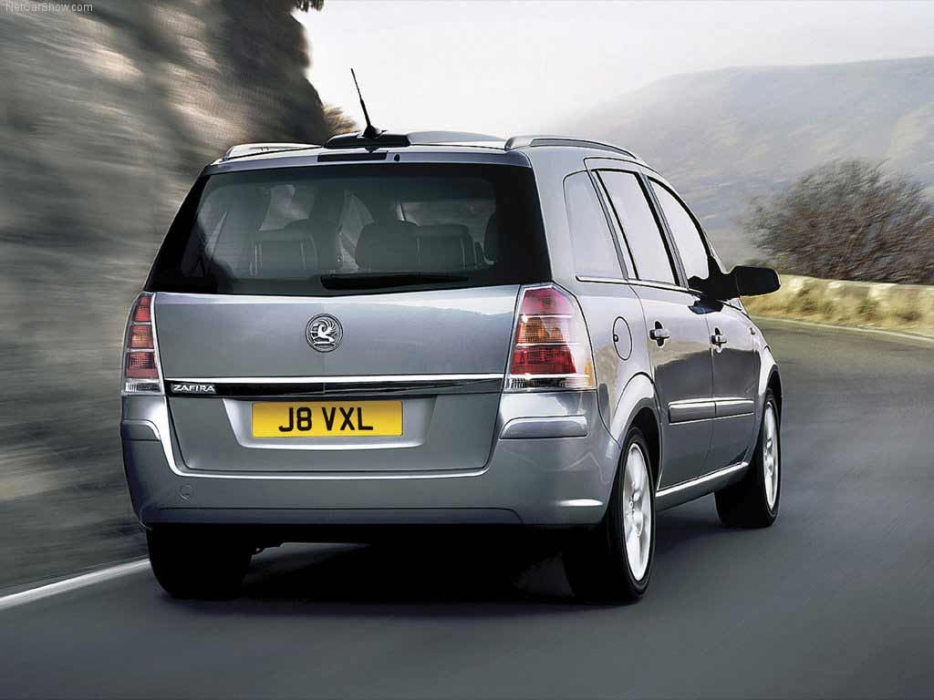 Vauxhall Zafira Rear