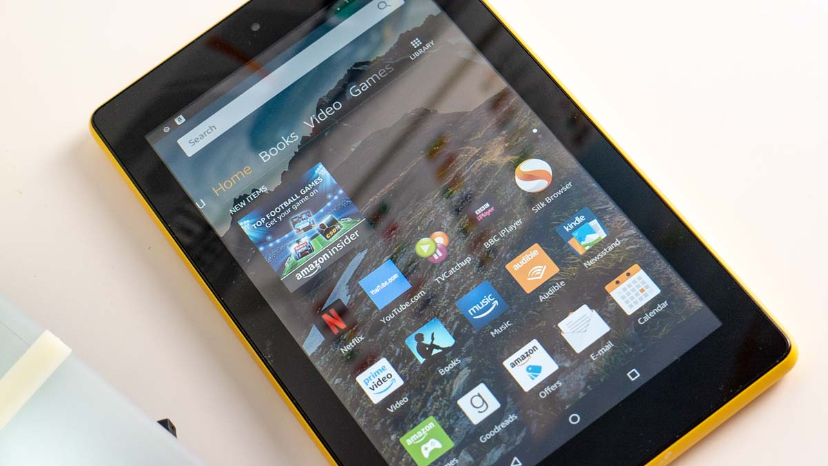 Amazon Fire 7 Review - Front Detail