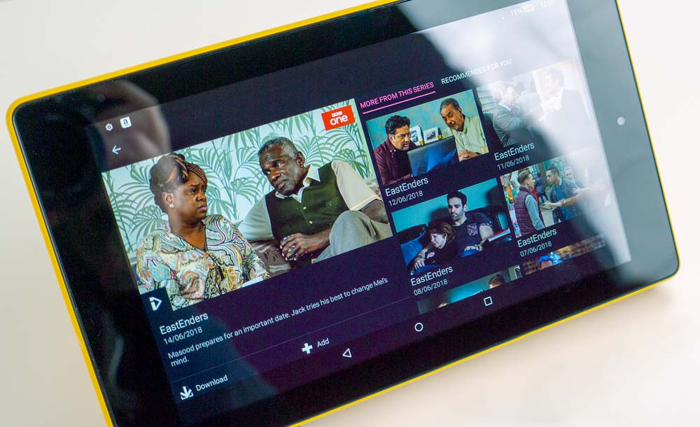 Amazon Fire 7 Review featuring iPlayer