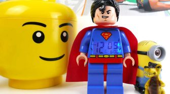 DC Comics Lego Superman Alarm Clock Review - We Try Anything