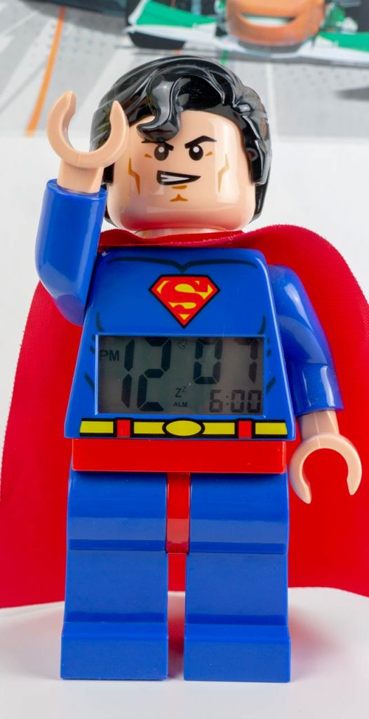 Superman Lego Alarm Clock Review - We Try Anything