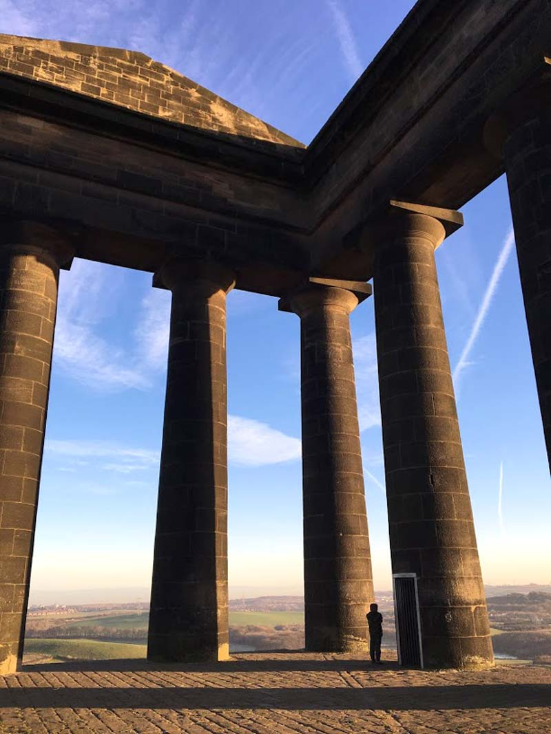 Penshaw Monument - Scale - wetryanything
