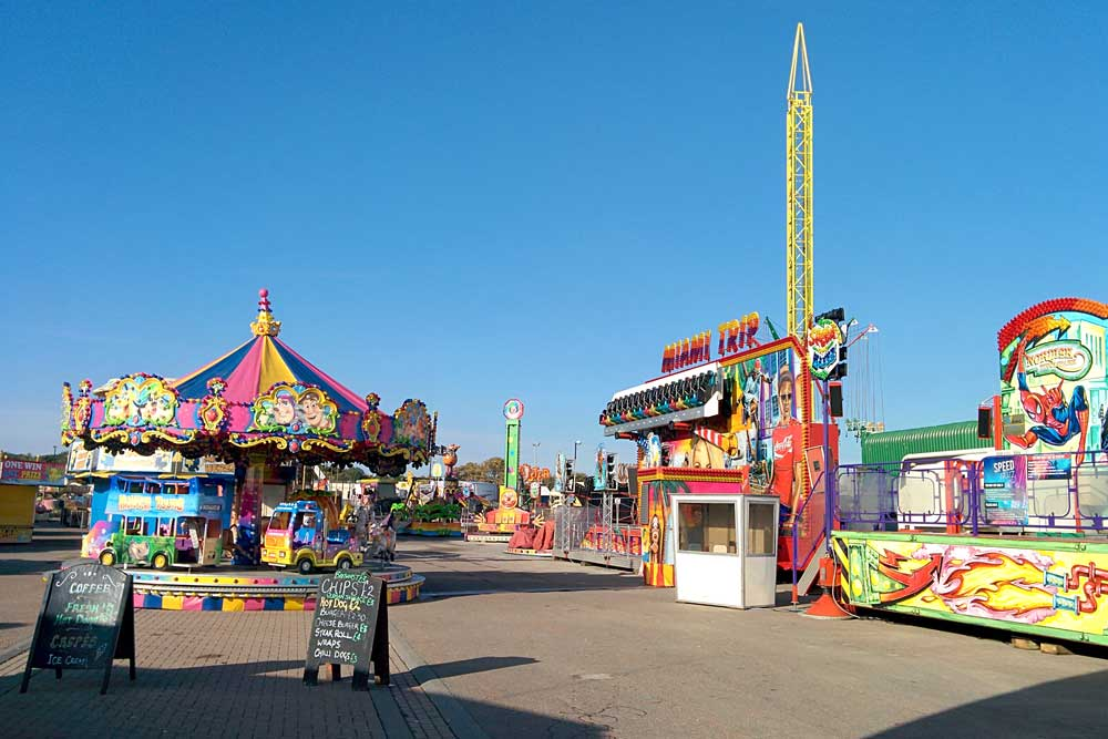 Seaburn pop up fun fair
