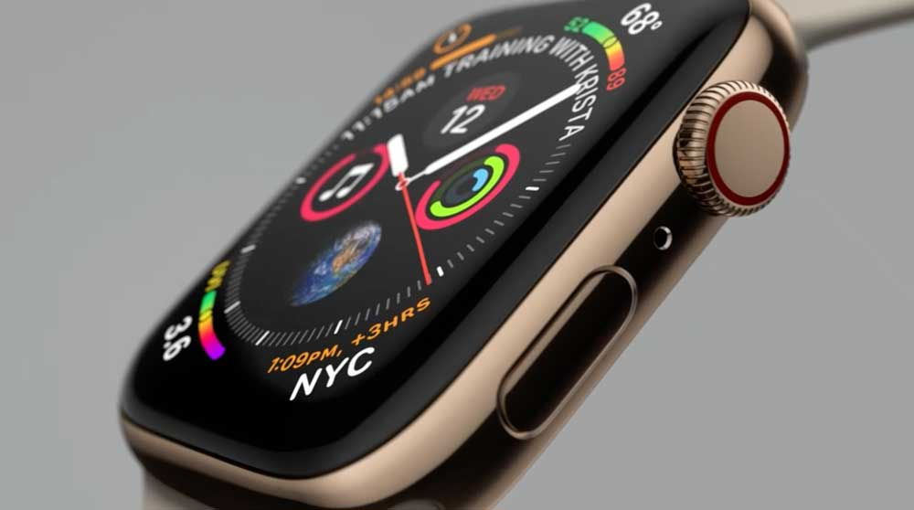 Apple Watch Series 4 Image copyright Apple