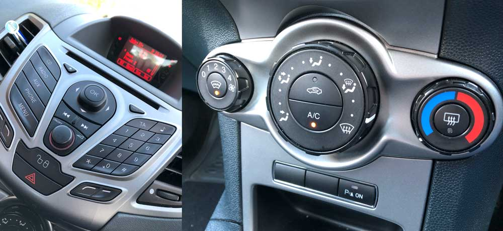 Ford FIesta Entertainment Console - Review