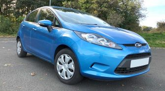2010 Ford Fiesta MK 7 Review - Front View