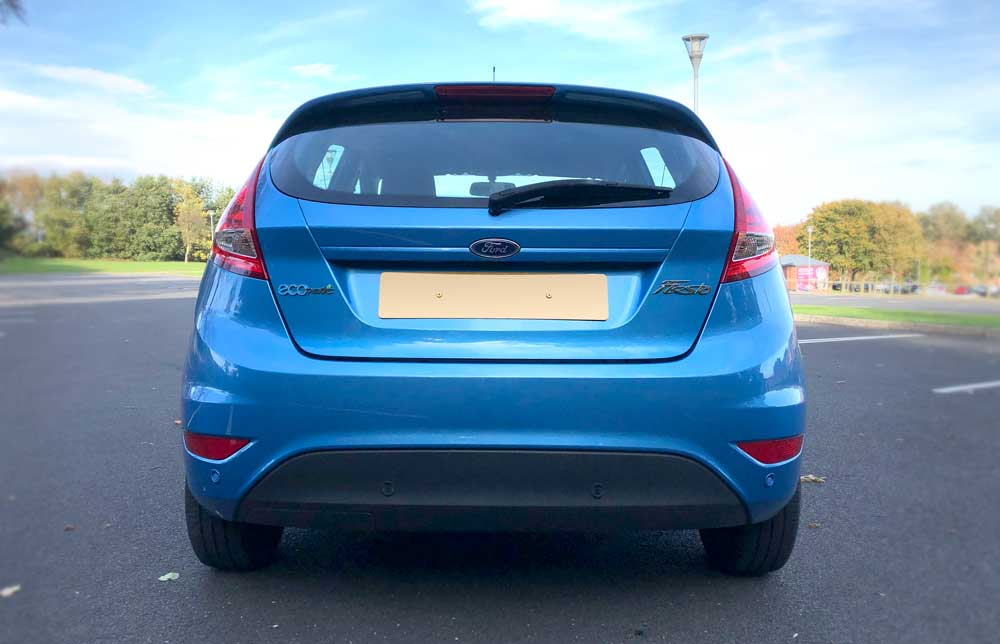 Ford Fiesta Review - Rear Boot