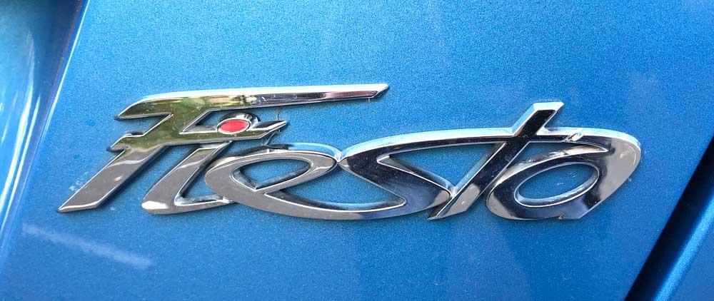 Ford Fiesta Review - Fiesta Logo