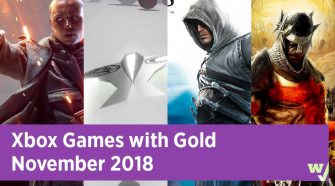 Xbox Games with Gold November 2018