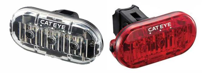 Cateye Bike Light Set