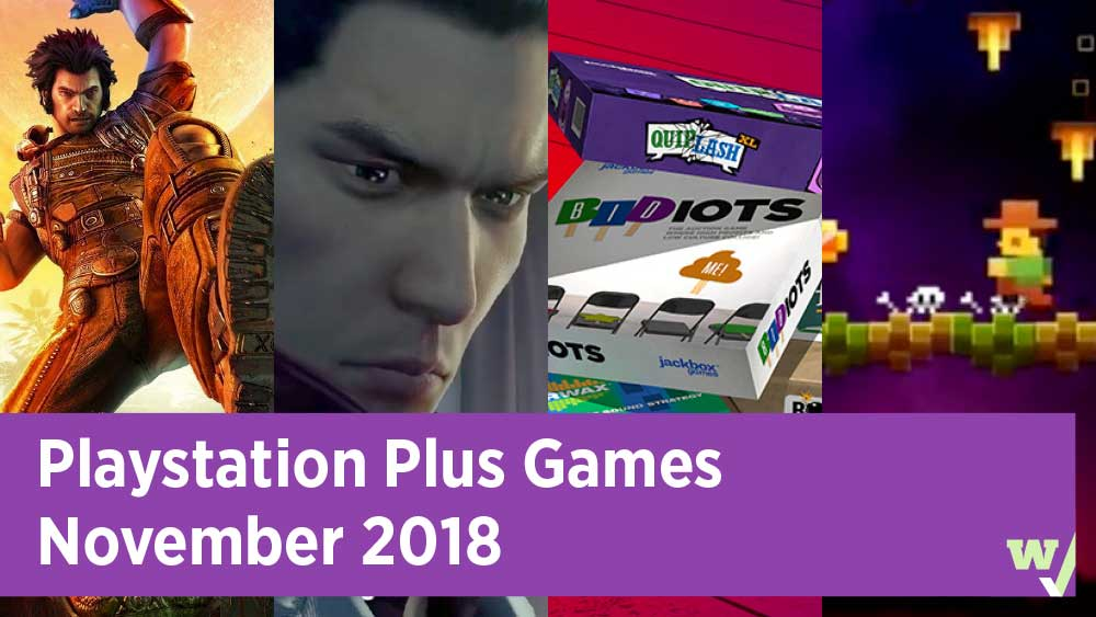 Playstation Plus Games November 2018