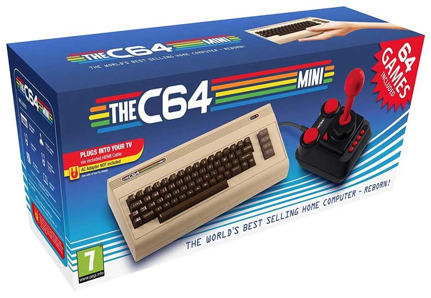 Commodore C64 Mini - Retro Gaming Gift Idea