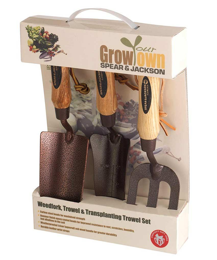 Gift Idea for Gardeners - 3 piece handtools