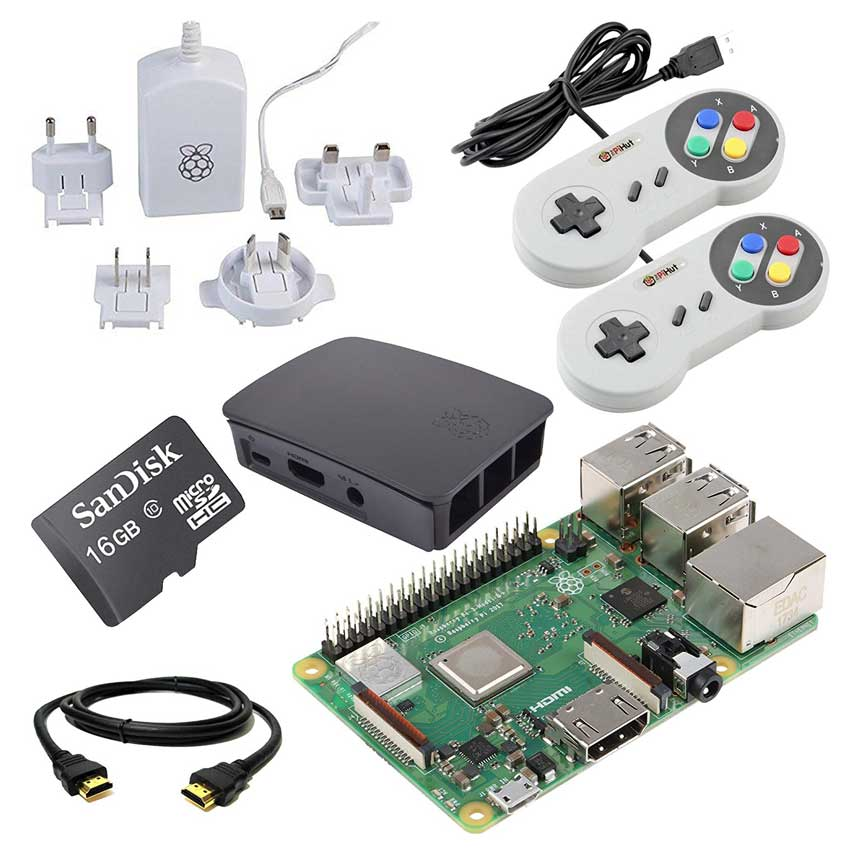 Retro Pi Gaming Package Gift