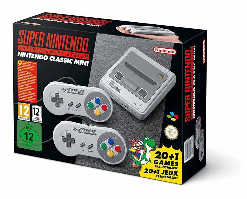 Super Nintendo Entertainment System Mini Console