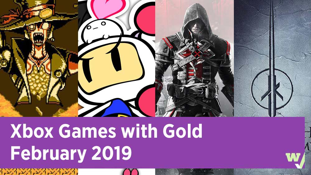 Xbox Games with Gold February 2019