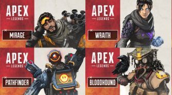 Apex Legends Character Line up