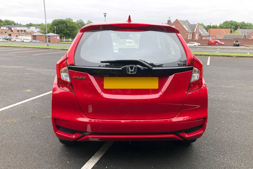 2019 Honda Jazz Review - Rear