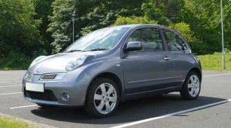 Nissan Micra K12 Review Front 3/4 Shot