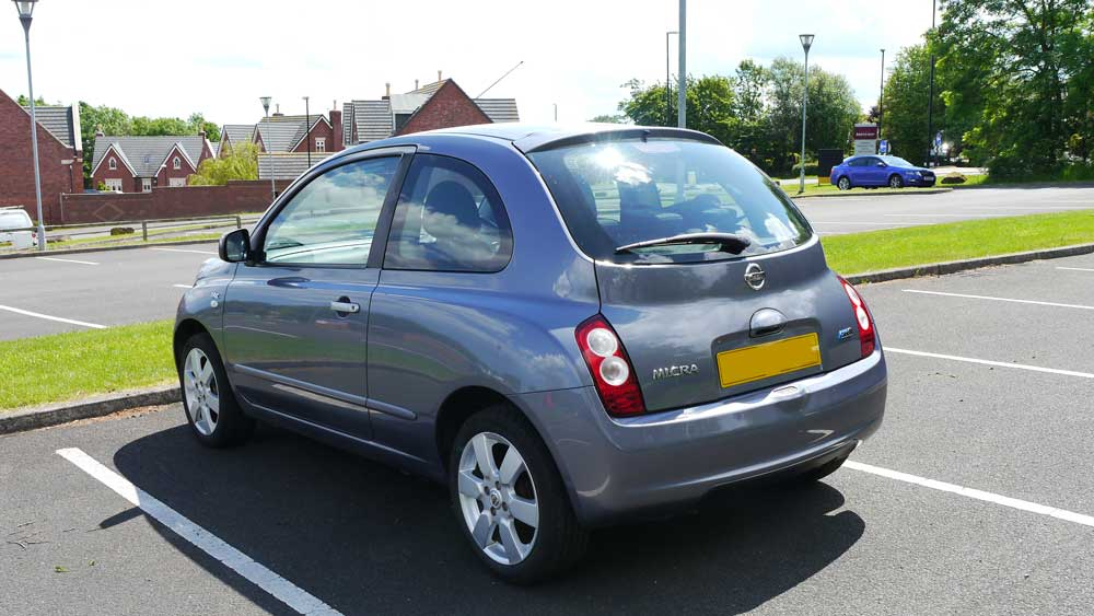 Nissan Micra K12 Review Rear Shot