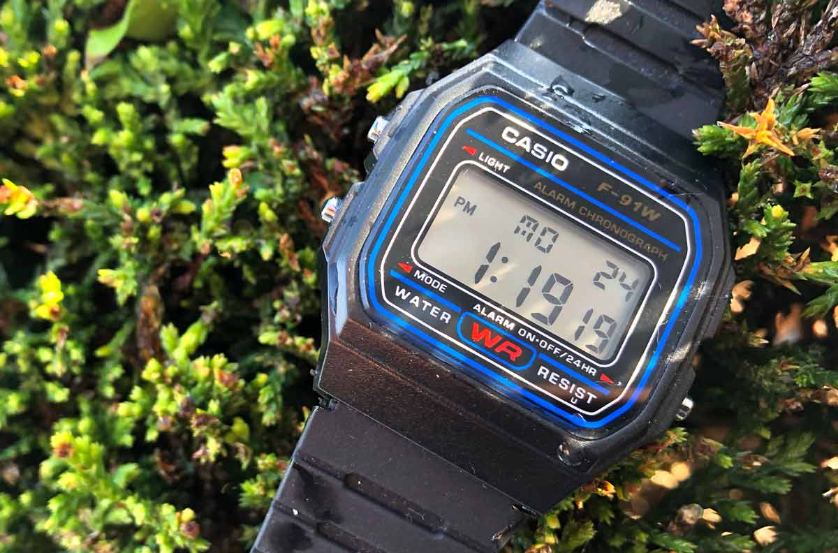 Casio F91W Digital Watch Review