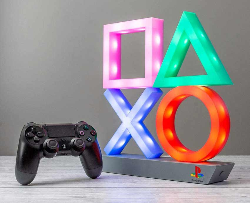 Sony Playstation Icon Lights - Gift Ideas