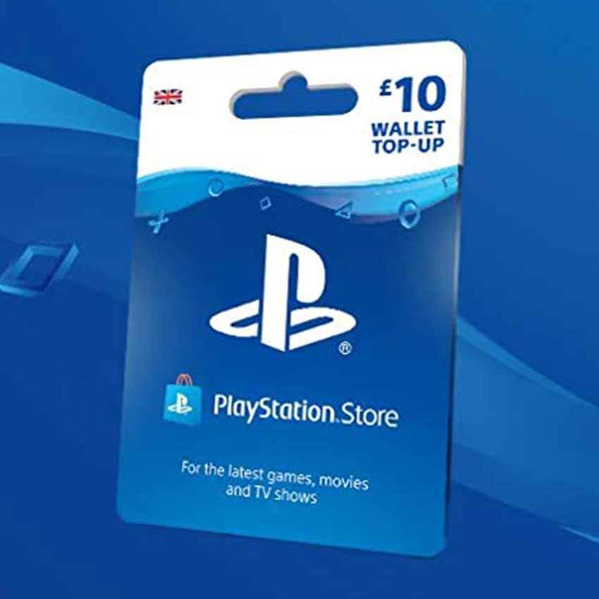 Playstation PSN Wallet Top Up Gift Idea